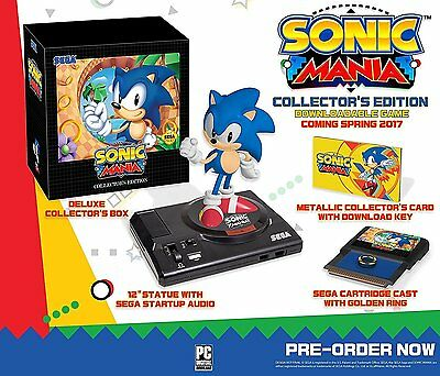 Sonic Mania  Collectors Edition  Nintendo Switch  Collectible  Statue  New