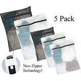 Kassa 5pc Mesh Laundry Bag (Large & Small) Wash Bags for Bra Delicates Lingerie