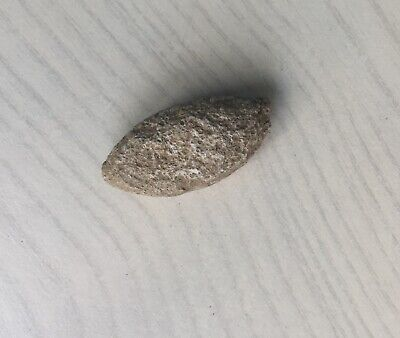 LAC ROMAN I-II cent BC lead Sling bullet - slingshot  24.30gr   AA16