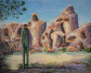 HUGE DISCOUNT Surreal Landscape Painting Sergio Ianniello Jindalee Brisbane South West Preview