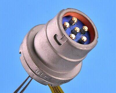 Mil-con Military Radio Sincgars Male Connector Pn Mc683sh-24cn4