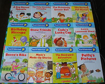 NEW Set of 12 Read Understand Comprehension Books Kindergarten First Grade 1 2