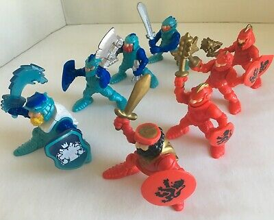 Fisher Price Great Adventures Castle 8 Knights ~ Fire Guard & Ice Brigade #77077