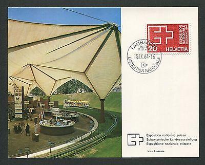 SCHWEIZ MK 1964 783 EXPO LAUSANNE MAXIMUMKARTE CARTE MAXIMUM CARD MC CM d3028