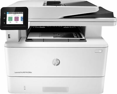 HP - LaserJet Pro MFP M428fdn Black-and-White All-In-One Laser Printer -