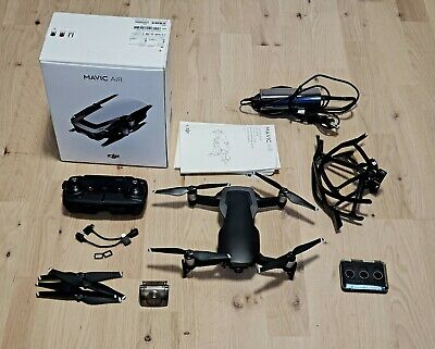 DJI Mavic Air Drone Black Boxed with Accessories and ND filters