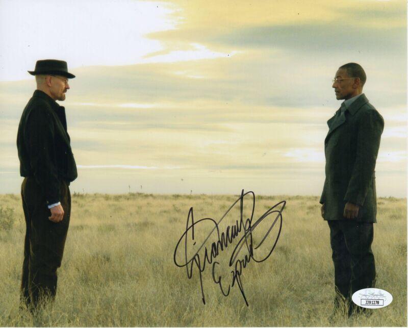 Giancarlo Esposito Autograph 8x10 Photo Breaking Bad Gus Fring JSA COA 4