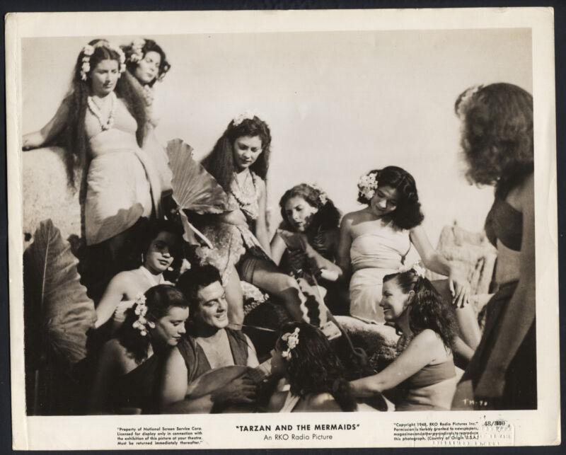 Tarzan And The Mermaids '48 JOHN LAURENZ PLAYING HIS MADOLIN