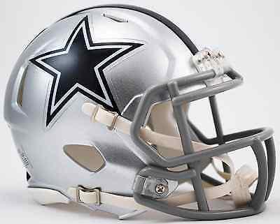 DALLAS COWBOYS NFL Mini Football Helmet BIRTHDAY WEDDING CAKE TOPPER DECORATION](Dallas Cowboys Birthday Cake)