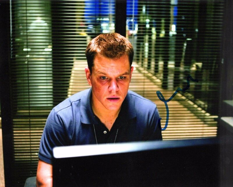 d06ee3dcdd9c8 GFA The Departed Movie * MATT DAMON * Signed Autograph 8x10 Photo PROOF LA1  COA