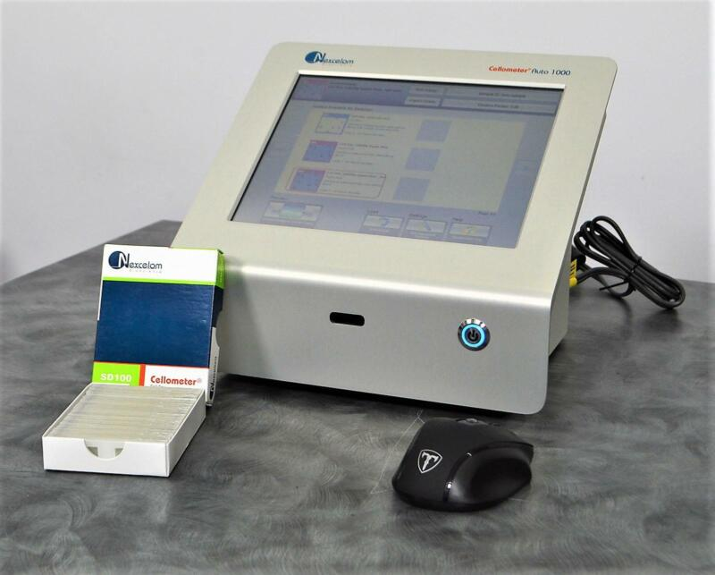 Nexcelom Cellometer Auto 1000 Bright Field Cell Counter w/ SD100 Slides
