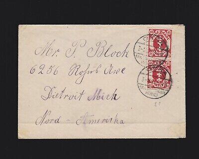 Brief Danzig MeF Mi.81 von Ohra (Kr. Danziger Höhe) nach USA 1921 gelaufen online kaufen