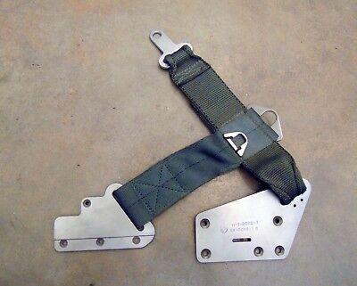 Grumman OV-1 Mohawk Ejection Seat Survival Kit Lap Belt Assembly Unused