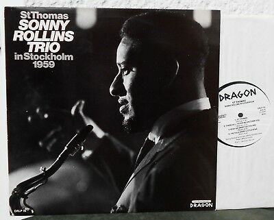 SONNY ROLLINS TRIO - St. Thomas. Live in Stockholm 1959  Dragon LP