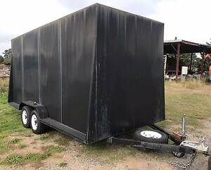 Huge Steel Box Trailer 16 X 6 - 4.8 x 2.0 x 2.3 Wallan Mitchell Area Preview