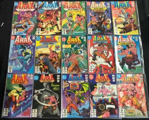 DC ARAK BRONZE AGE COMIC RUN #1-50+ ANNUAL #1 (VF)