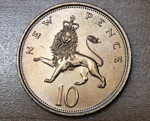 1977 Great Britain 10 Pence