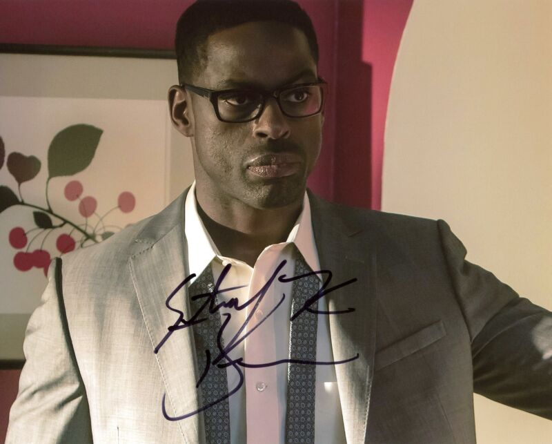 "Sterling K. Brown ""This Is Us"" AUTOGRAPH Signed 8x10 Photo E ACOA"