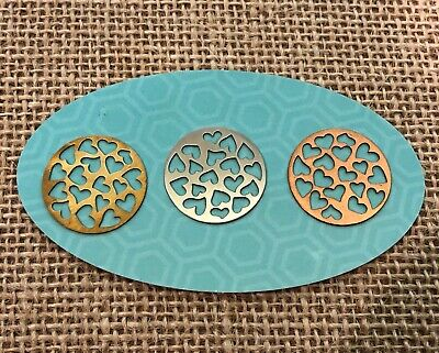 Authentic Origami Owl Large Cutout Hearts Round Plate - New & Retired](Owl Cutouts)