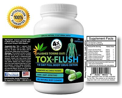 Pass Drug Test Best Product - 10 Day THC - Weed - Drug Test Cleanse - THC Detox