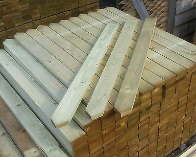 3' POINTED TOP WICKETS/PICKETS/PALES FOR FENCING Pack of 40