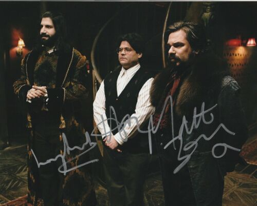 * WHAT WE DO IN THE SHADOWS * signed 8x10 photo * NOVAK, BERRY & GUILLEN * 1