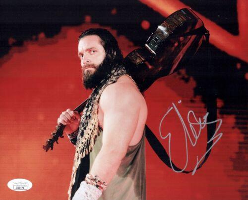 Elias Guitar Walk Signed WWE 8x10 Photo Wrestler Autograph JSA COA Cert