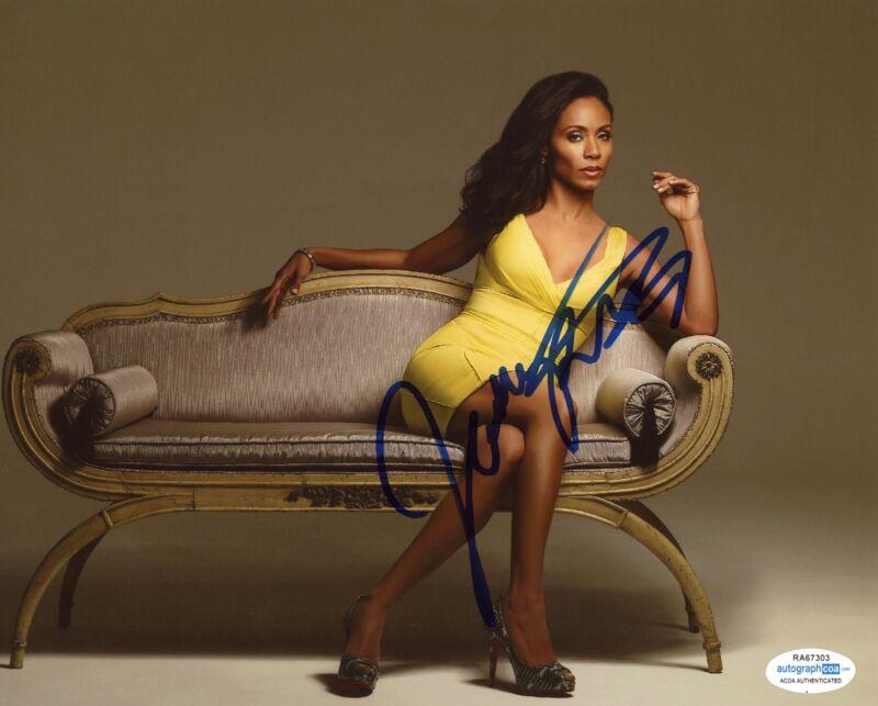 Jada Pinkett Smith AUTOGRAPH Signed 8x10 Photo B ACOA