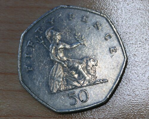 2000 Great Britain 50 Pence