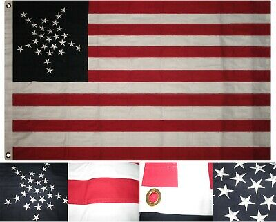 3x5 ft Florida Chase Secession Flag Polyester CSA 1861 Provisional Military Flag