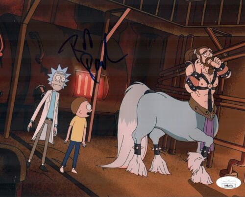ROB PAULSEN Rick And Morty CENTAUR Signed 8x10 Photo Autograph JSA COA Cert