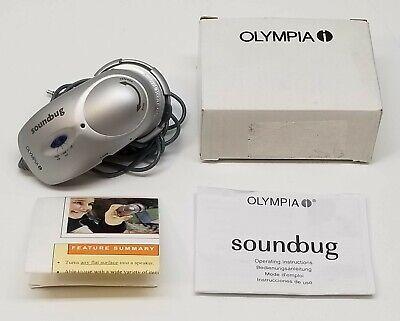 Vintage Olympia Soundbug FeONIC Original Portable Surface Conduction Speaker