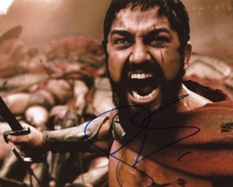 "Gerard Butler ""300"" AUTOGRAPH Signed 8x10 Photo ACOA"