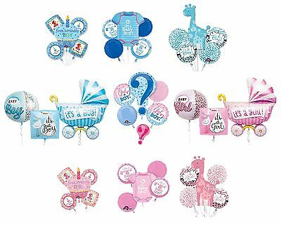 It's A Baby Boy or It's A Baby Girl Bouquet Balloon for Party Baby Shower (1pc)](Baby Boy Balloons For Baby Shower)