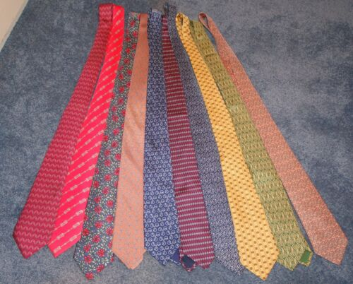 Hermes Vintage Ties -- Lot of Ten!!!