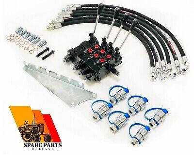 Triple Hydraulic Remote Kit Massey Ferguson Mf 135 150 230 231 240 245 250 253