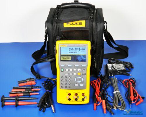 Fluke 754 Documenting Multifunction Process Calibrator HART - NIST Calibrated