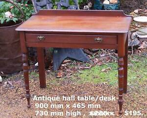 Cedar Hall table / Desk , other tables and antiques Martin Gosnells Area Preview