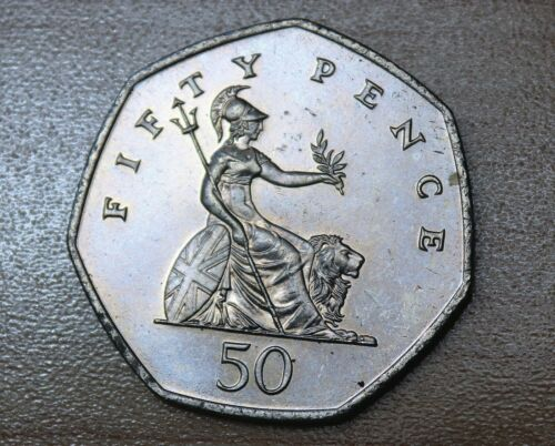 1997 Great Britain 50 Pence