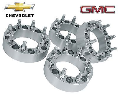 4 Pc Gmc Sierra 2500 hd 3500 hd 8 Lug Duramax Diesel |2"