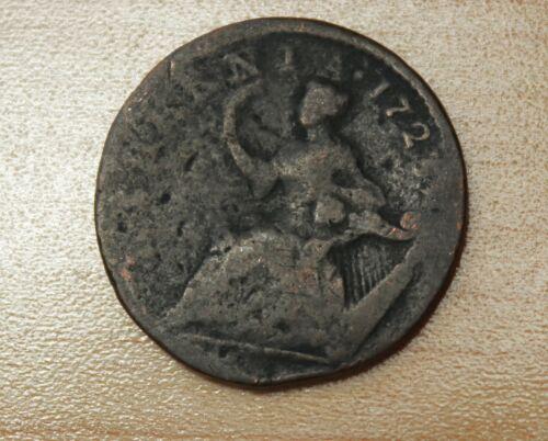 1723 Ireland 1/2 Penny