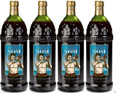 Tahitian Noni Juice - (4) 1 liter bottle  good tell end date 2020 Special Sale