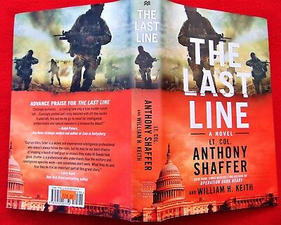 THE LAST LINE -NEW HARDCOVER BOOK ~BY LT. COL. A. SHAFFER ~ COST $26.00