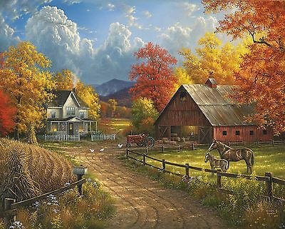 White Mountain Puzzles Country Blessings Jigsaw Puzzle (1000 Piece)