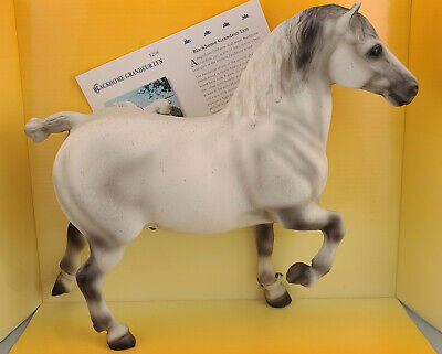 Breyer 1206 Blackhome Grandeur Lyn Grey Percheron Model Horse - NIB Handpicked