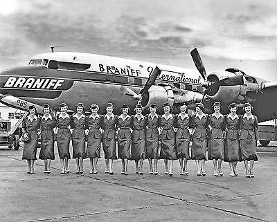 "Braniff Airways Douglas DC-6 ((8""x10"")) Print"