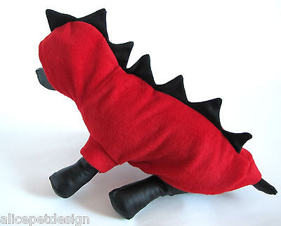 EXKLUSIVES Hundekostüm Drache Fasching Karneval Kostüm Hundejacke Katze Hund (Hund, Drache Kostüm)