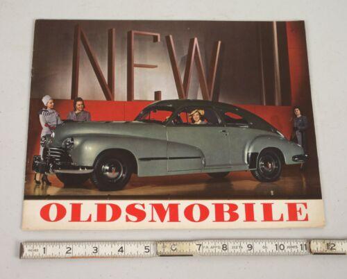 Vintage 1946 Oldsmobile Olds Dealer Sales Brochure Marketing Car Catalog