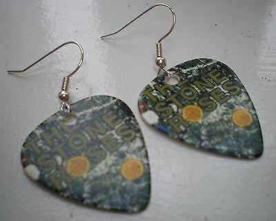 Stone Roses - Guitar Pick earrings