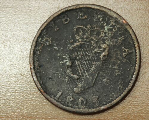 1805 Ireland 1/2 Penny